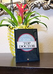 360 West Magazine 2018 Top Doctor